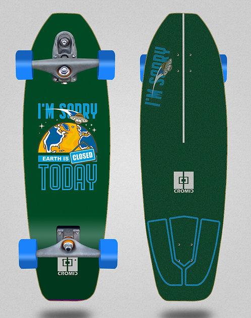 Cromic surfskate T12 trucks C19 Earth green 31.5