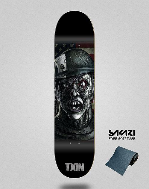 Txin Zombie nation skate deck