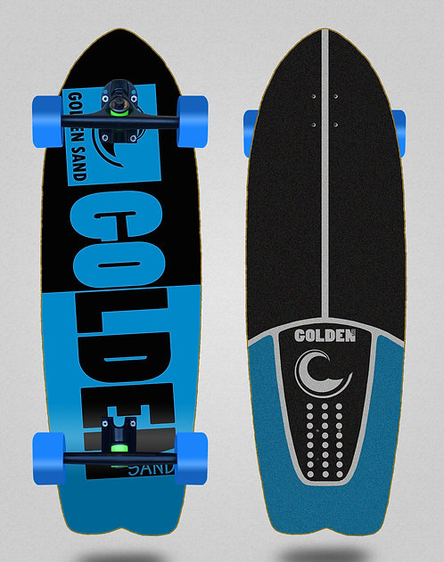 Golden Sand cruiser Degraded tone black blue 29 fish