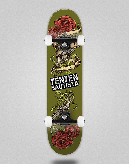 Cromic Yenyen present green skate complete