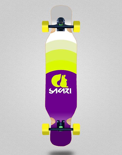Sakari City tricks longboard complete 46x10