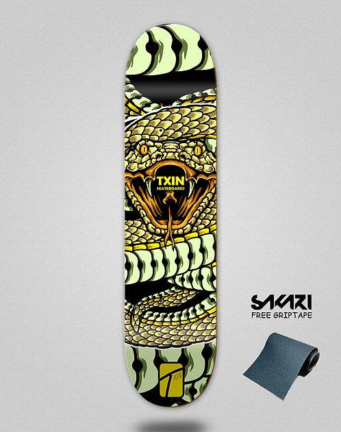 Txin Snake attack skate deck