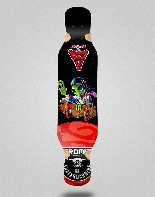 Cromic Eduardo Prieto Air alien longboard deck 46x10