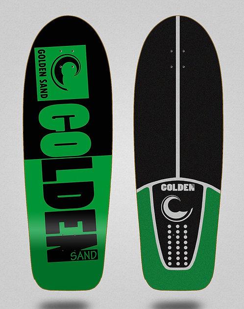 Golden Sand deck - Degraded tone black green 30,5