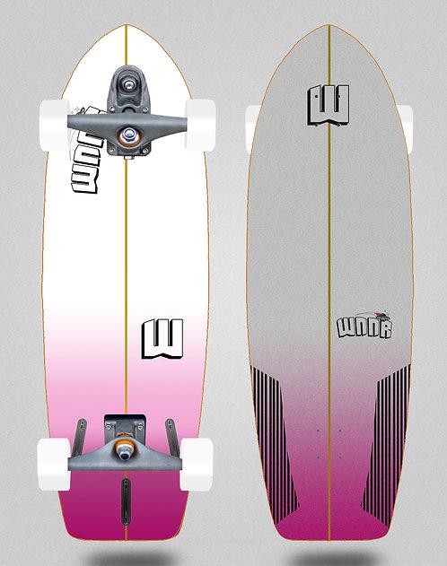 Wnnr surfskate T12 trucks Deep pink 29