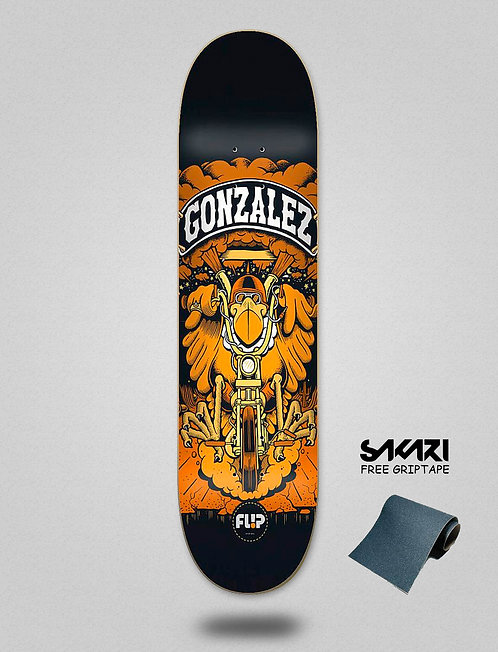 "Flip Gonzalez Comix 8.0""x31.5"""
