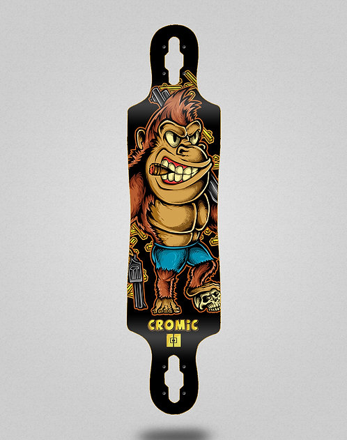 Cromic Donkey crazy food longboard deck 40x9