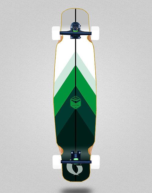 Glutier Green style longboard dance complete 46x9