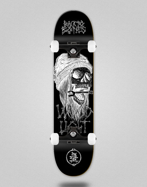 Wood light Back to bones Ortiz black skate complete
