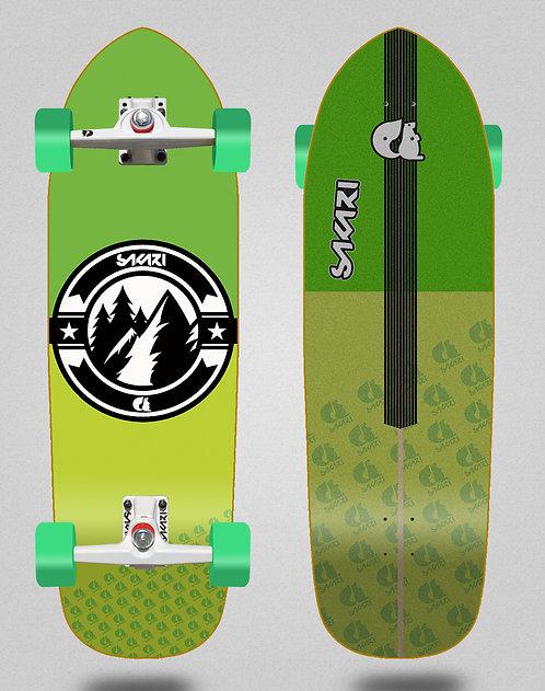 Sakari surfskate Downhill juice green 33.5 hill