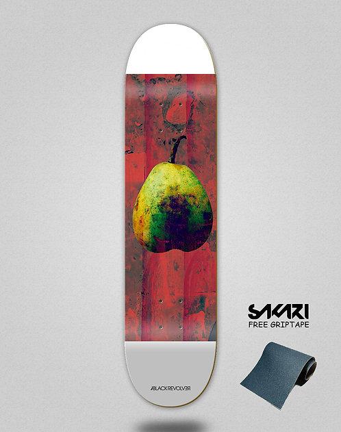 Black Revolver skate deck Rotten fruit 2