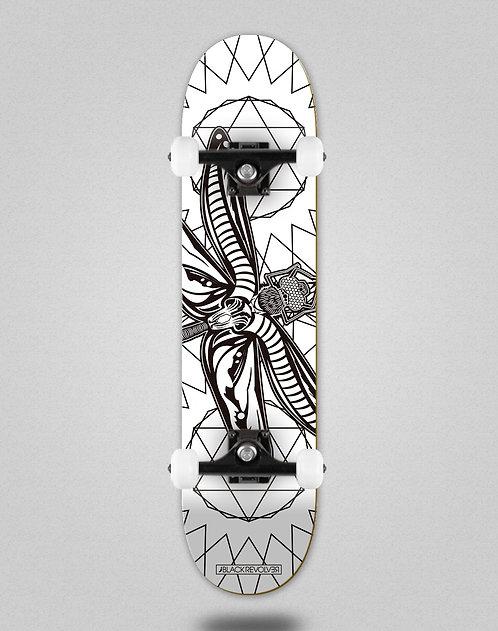 Black Revolver Insecta collective libelula white skate complete