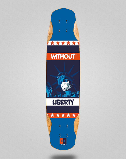 Cromic Covid Without liberty longboard deck 38x8.45