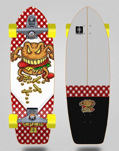 Cromic surfskate T12 trucks Burger crazy food 29