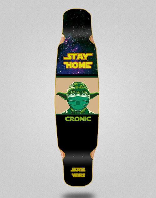 Cromic Covid Skate wars longboard deck dance 46x9