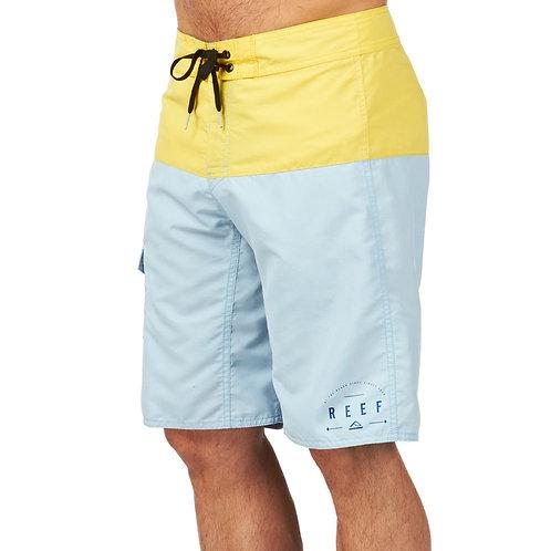 Reef boardshort - Top halp yellow