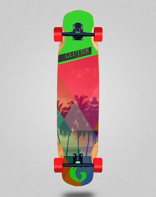 Glutier Caribbean longboard complete 38x8.45