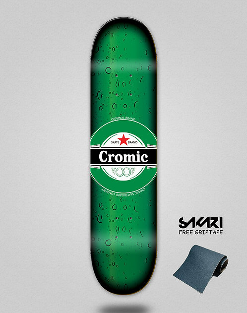Cromic Fresh green skate deck