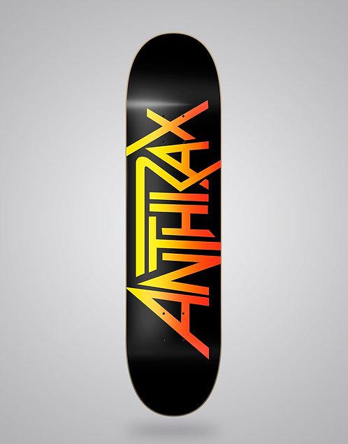 Skate & music - Anthrax logo 8.0