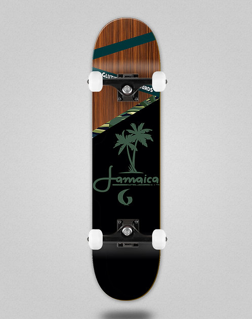 Glutier Jamaica wood skate complete