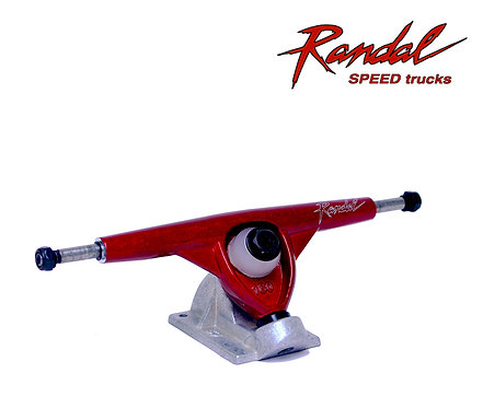 Randal RII skate longboard trucks 180mm Red Raw. Ejes de longboard (Set 2)