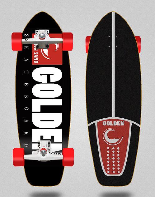 Golden Sand surfskate SGI icon black red 31