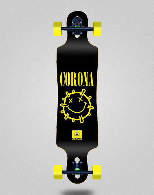 Cromic Covid Corona longboard complete 40x9