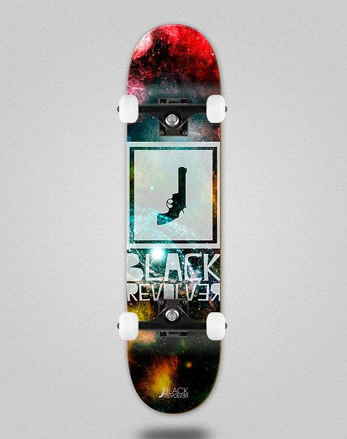 Black Revolver Space Square skate complete