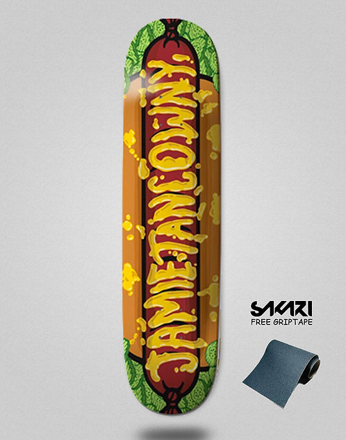 Dog skateboard deck TANCOWNI WEINER 8.25
