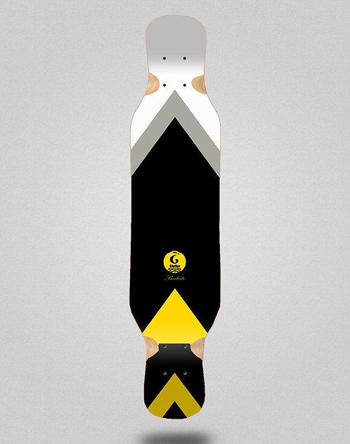 Glutier Barbeito longboard deck 46x10