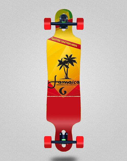 Glutier Jamaica longboard complete 40x9
