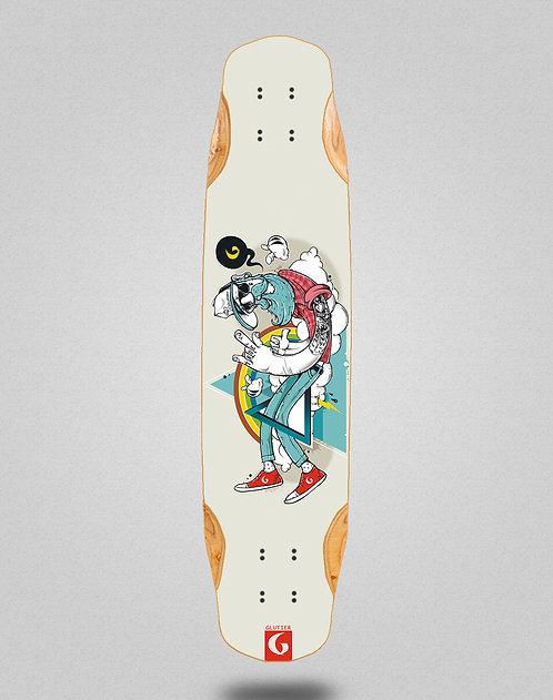 Glutier Abel G.N. longboard deck 38x8.45