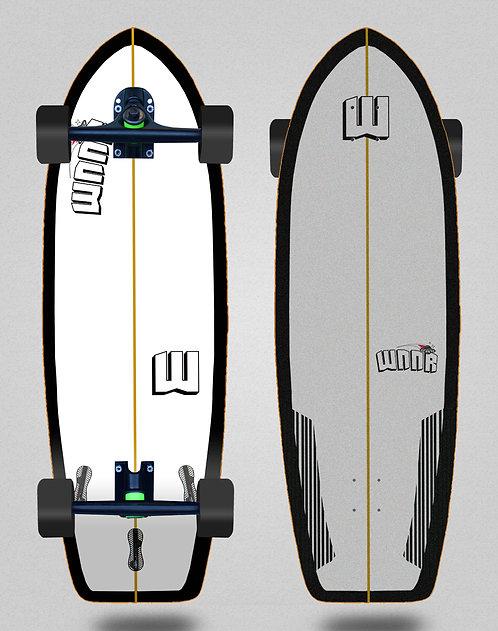 Wnnr cruiser Tulum white black 31