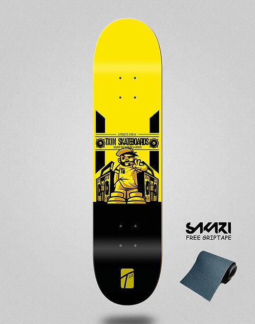 Txin Boom box skate deck