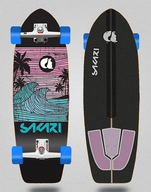 Sakari surfskate - Cali dream blue 29