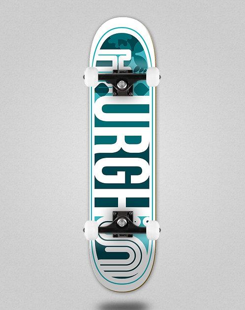 Urgh Leaf blue skate complete