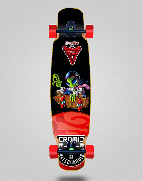 Cromic Eduardo Prieto Air alien longboard complete mix bamboo 46x9