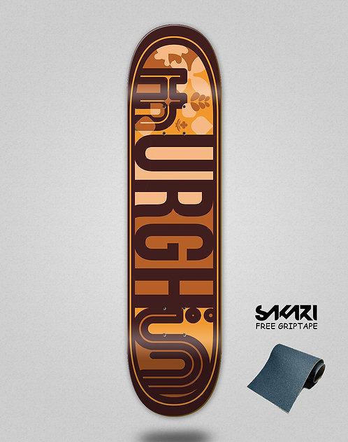 Urgh skate deck Leaf brown