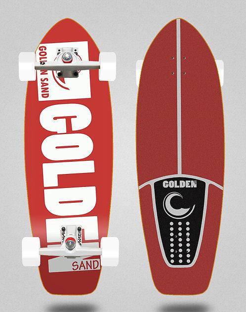 Golden Sand surfskate SGI Degraded red white 31