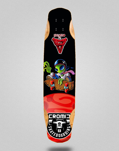 Cromic Eduardo Prieto Air alien longboard deck 38x8.45