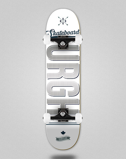 Urgh OG white grey skate complete