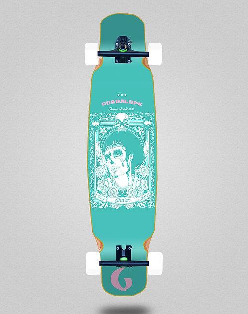 Glutier Guadalupe sky longboard dance complete 46x9