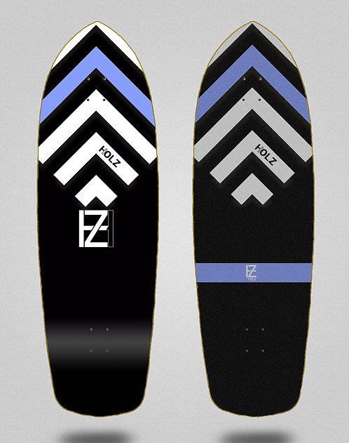 Holz surfskate deck Gram BK Akira black 34