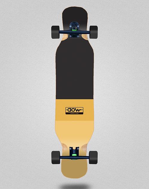 Aow Fastskate classic yellow longboard complete 46x10
