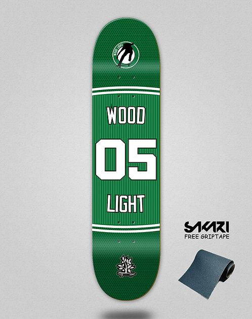 Wood light skate deck Basket 05