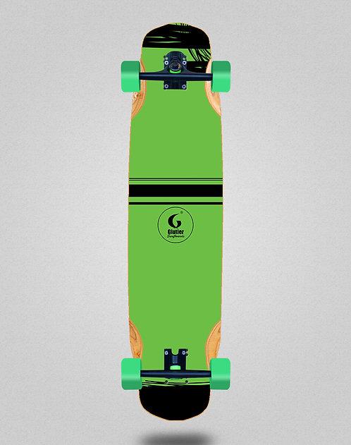 Glutier Grass longboard complete 38x8.45
