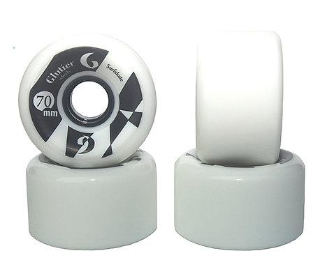 Glutier wheels : 70x42cm / 78a white