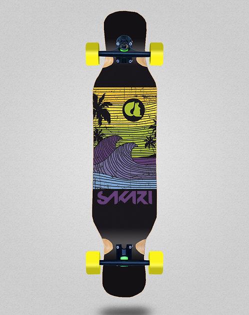 Sakari Cali dream yellow longboard dance complete 46x10