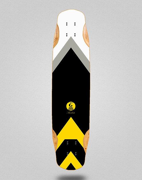 Glutier Barbeito longboard deck 38x8.45