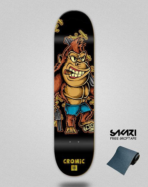 Cromic Donkey crazy food skate deck